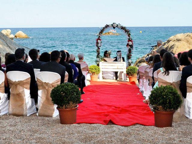 La boda de Jose y Marta en Platja D'aro, Girona 2