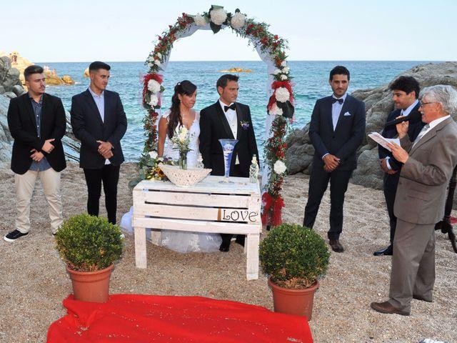La boda de Jose y Marta en Platja D'aro, Girona 9