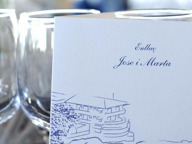 La boda de Jose y Marta en Platja D'aro, Girona 14