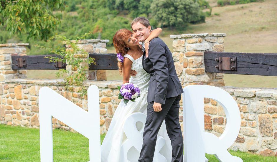 La boda de Neus y Roberto en Campillo De Mena, Burgos