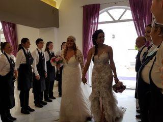 La boda de Sara  y Lupe  3