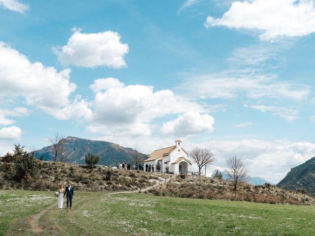 La boda de Blake y Andrea en San Felices (Albella), Huesca 19