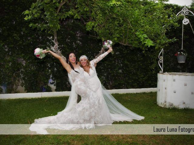 La boda de Sara  y Lupe