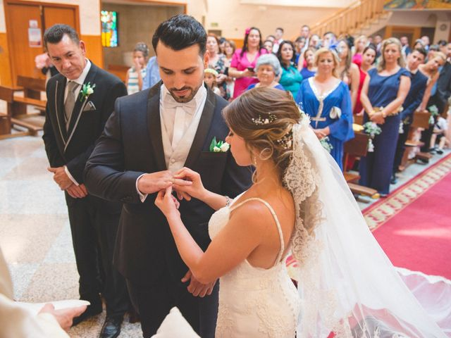 La boda de Daniel y Lorena en Fuente El Saz De Jarama, Madrid 25
