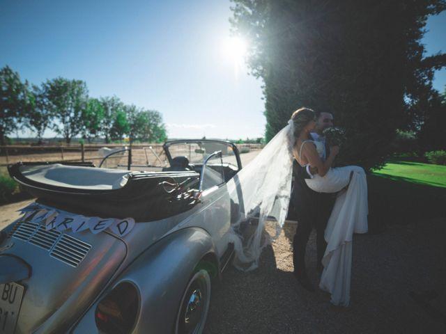 La boda de Daniel y Lorena en Fuente El Saz De Jarama, Madrid 28