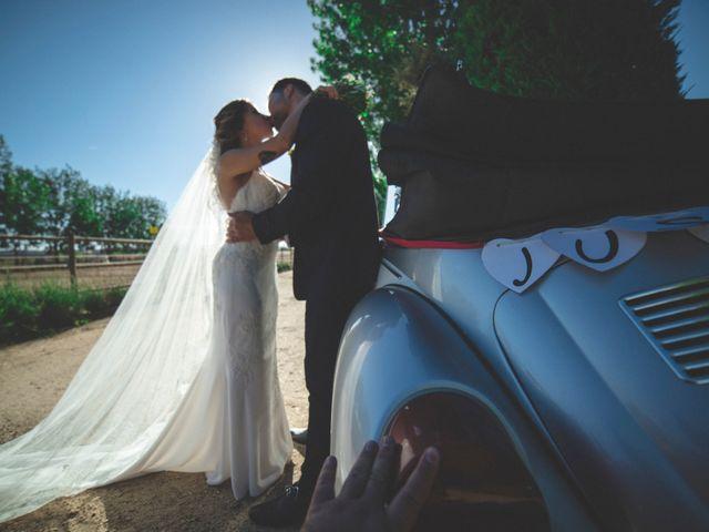 La boda de Daniel y Lorena en Fuente El Saz De Jarama, Madrid 30