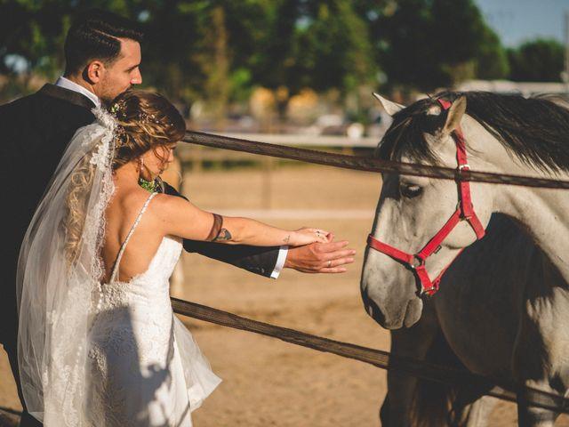 La boda de Daniel y Lorena en Fuente El Saz De Jarama, Madrid 38