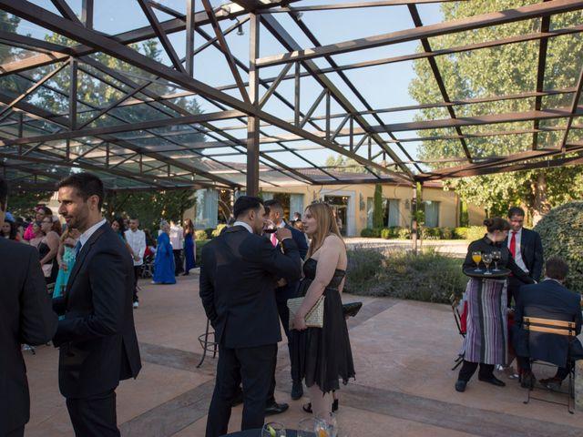 La boda de Daniel y Lorena en Fuente El Saz De Jarama, Madrid 41