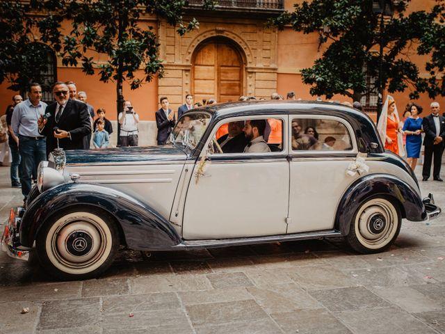 La boda de Julio y Marta en Granada, Granada 7