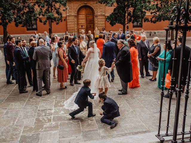 La boda de Julio y Marta en Granada, Granada 28