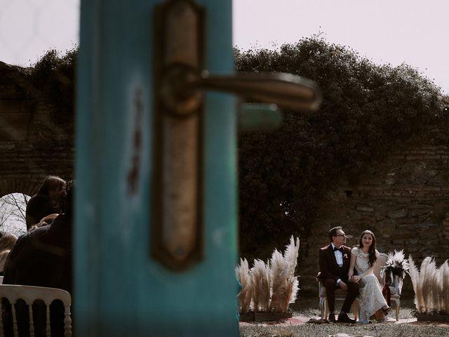 La boda de Josué y Bárbara en Cazalla De La Sierra, Sevilla 100