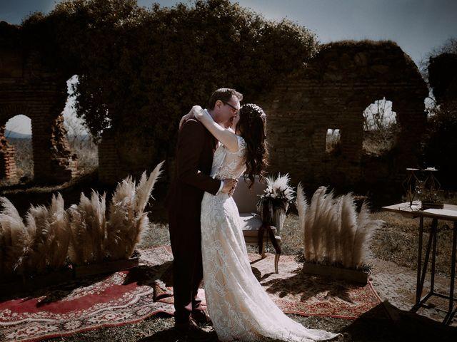 La boda de Josué y Bárbara en Cazalla De La Sierra, Sevilla 127