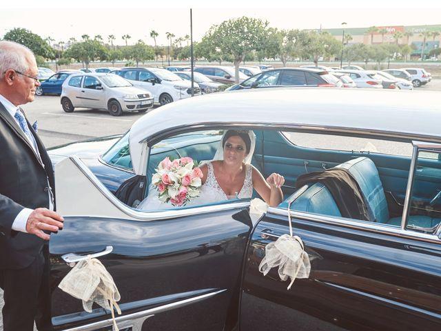 La boda de Silva y Belén en Torre Del Mar, Málaga 47