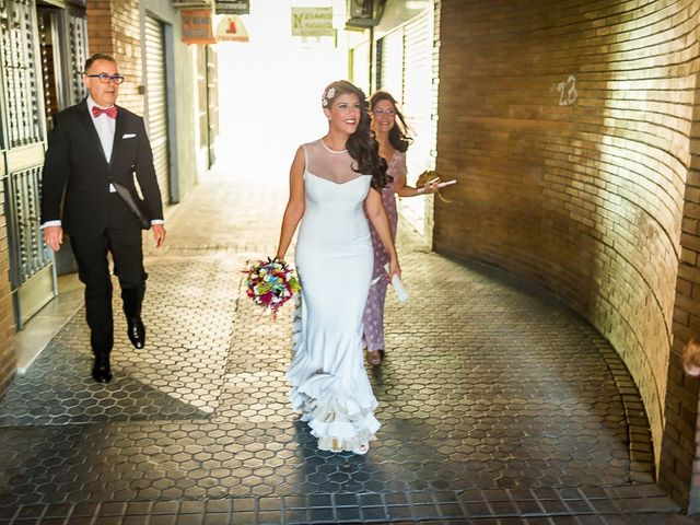 La boda de Fran y Carolina en Sevilla, Sevilla 34