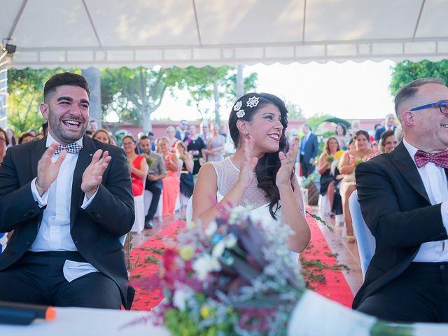 La boda de Fran y Carolina en Sevilla, Sevilla 43