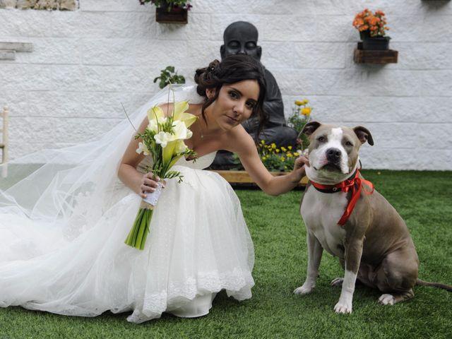 La boda de Javi  y Marta en Montornes Del Valles, Barcelona 9