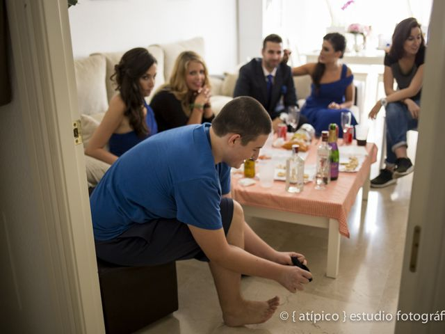 La boda de Pablo y Nieves en Málaga, Málaga 10