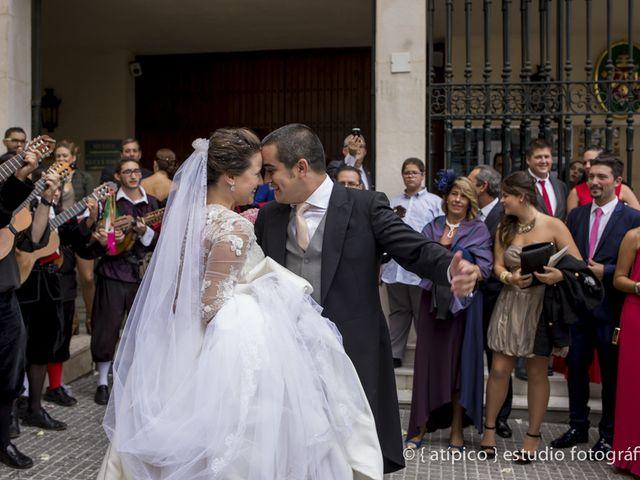 La boda de Pablo y Nieves en Málaga, Málaga 42
