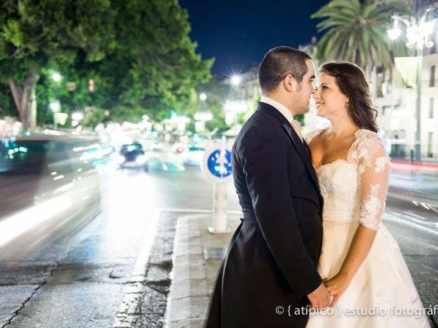 La boda de Pablo y Nieves en Málaga, Málaga 91