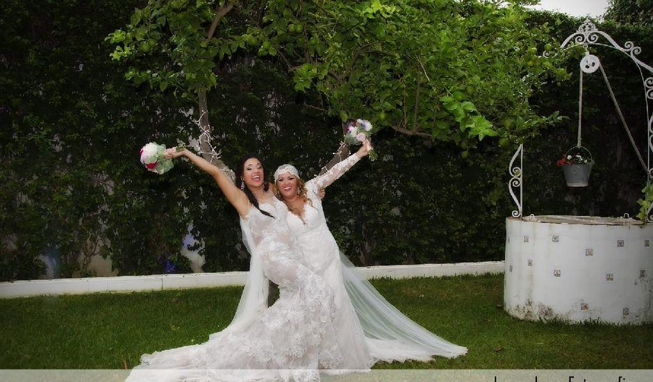 La boda de Lupe  y Sara  en La Rinconada, Sevilla