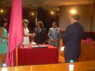 La boda de Carlos y Dori