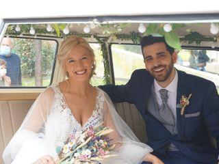 La boda de David Russo  y Ester Casquero