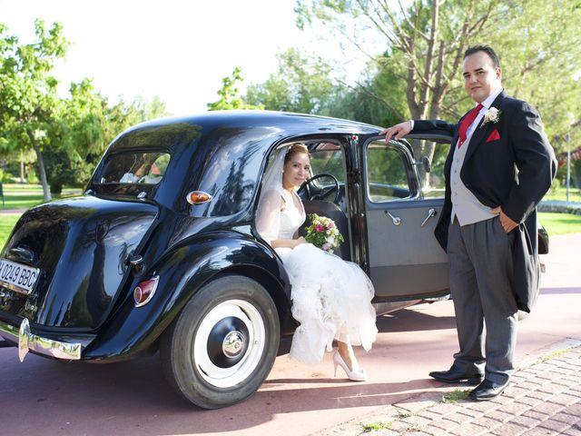 La boda de Sandra y David en El Olivar, Madrid 1