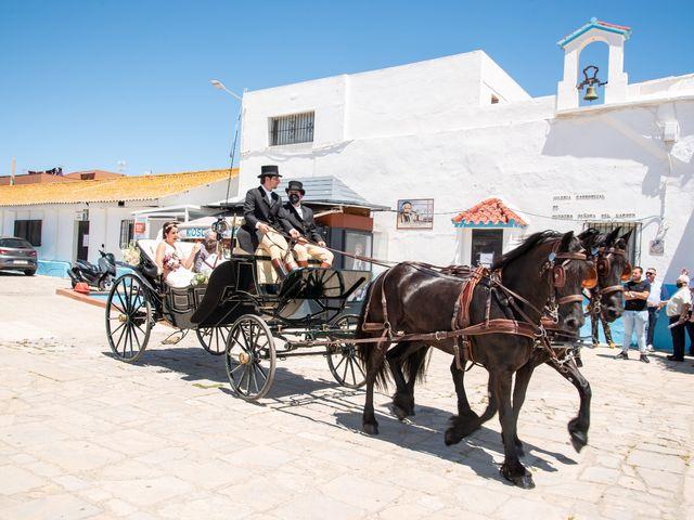 La boda de Joaquin y Gema en La Linea De La Concepcion, Cádiz 1