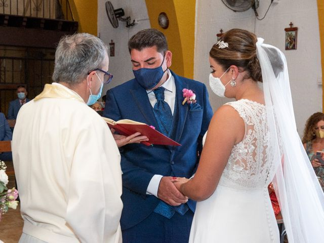 La boda de Joaquin y Gema en La Linea De La Concepcion, Cádiz 2