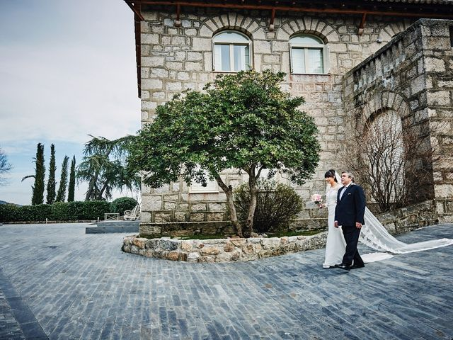 La boda de Javi y Estefanía en Hoyo De Manzanares, Madrid 12