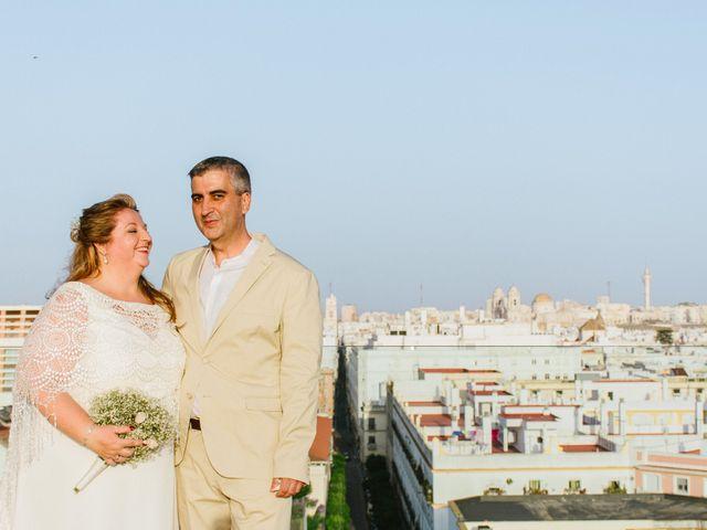 La boda de Antonio y Mari Carmen en Cádiz, Cádiz 44