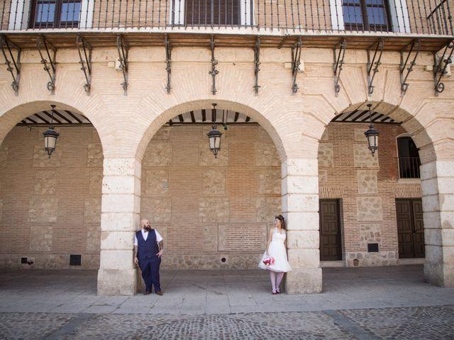 La boda de Pedro y Gema en Ocaña, Toledo 43