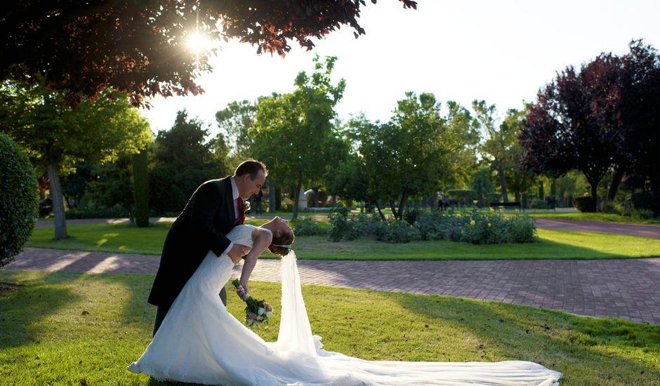La boda de Sandra y David en El Olivar, Madrid