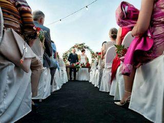 La boda de Rocío y Evas 1