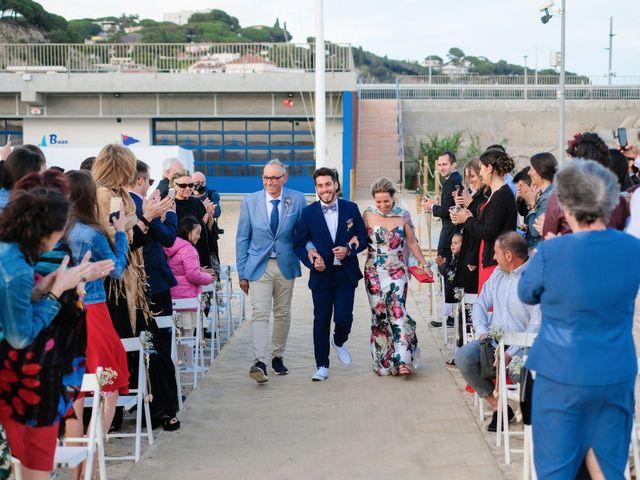 La boda de Sergi y Aina en Arenys De Mar, Barcelona 9