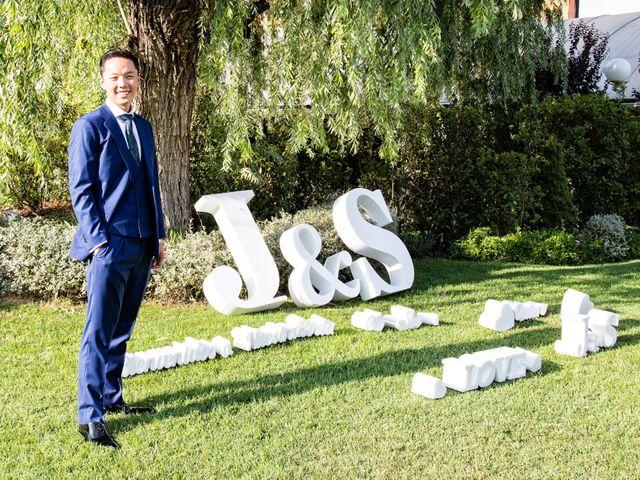 La boda de Jose Antonio y Sumin en Leganés, Madrid 2