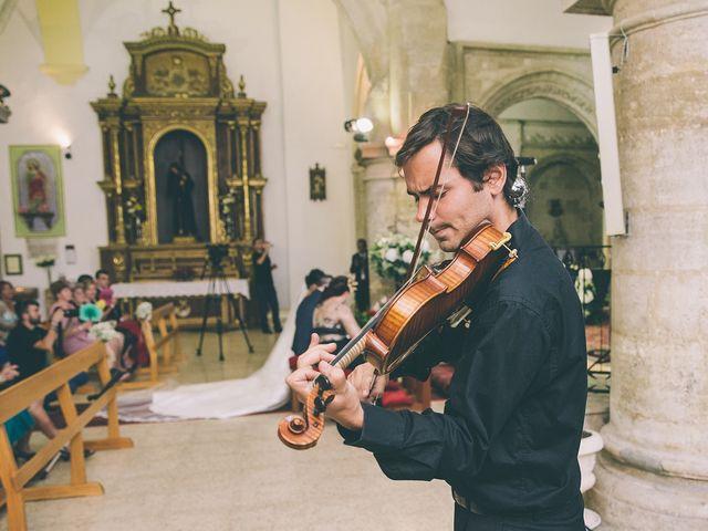 La boda de Alberto y Alicia en Tarancon, Cuenca 43