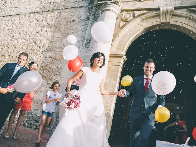 La boda de Alberto y Alicia en Tarancon, Cuenca 44
