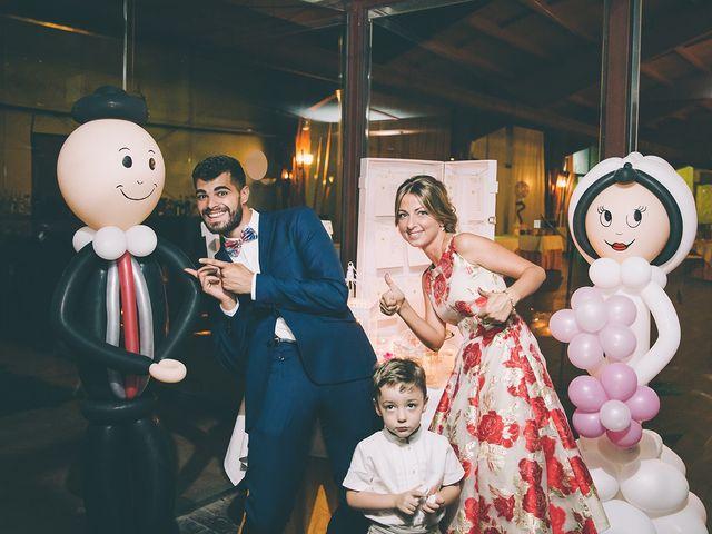 La boda de Alberto y Alicia en Tarancon, Cuenca 55