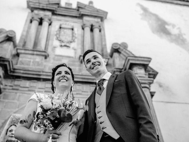La boda de David y Ruth en Zalamea De La Serena, Badajoz 17