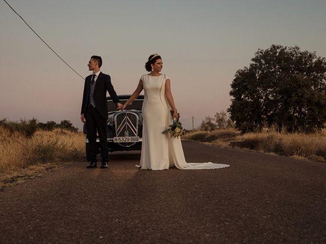 La boda de David y Ruth en Zalamea De La Serena, Badajoz 43