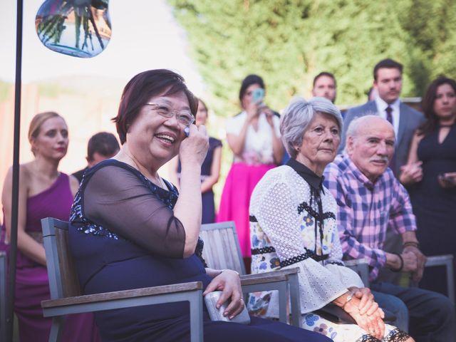 La boda de Arturo y Feli en Molinaseca, León 31