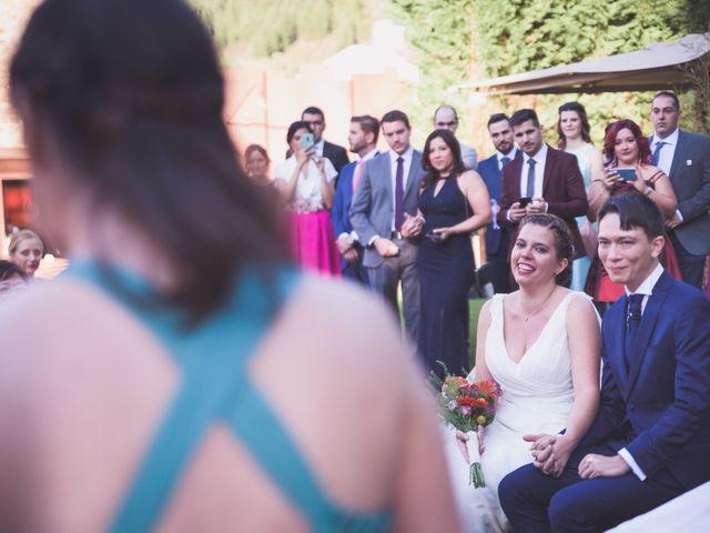 La boda de Arturo y Feli en Molinaseca, León 32