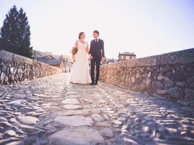 La boda de Arturo y Feli en Molinaseca, León 42