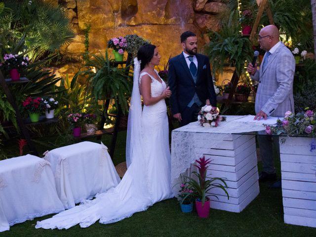 La boda de Darío y Silvia en Almería, Almería 47