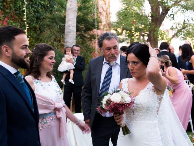 La boda de Darío y Silvia en Almería, Almería 56