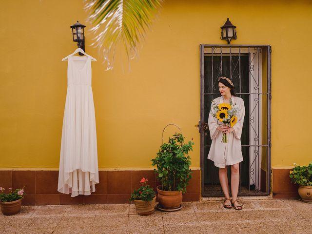 La boda de Capucine y Celia en Caracuel De Calatrava, Ciudad Real 7