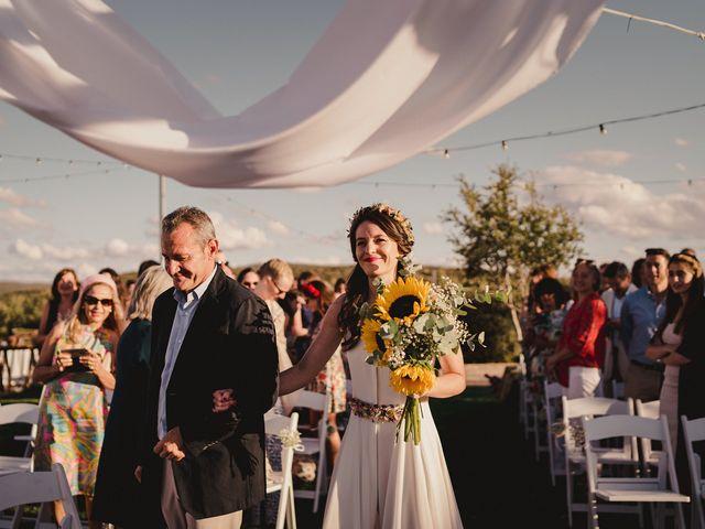 La boda de Capucine y Celia en Caracuel De Calatrava, Ciudad Real 41