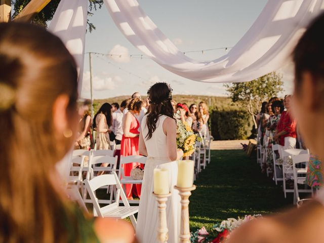 La boda de Capucine y Celia en Caracuel De Calatrava, Ciudad Real 42