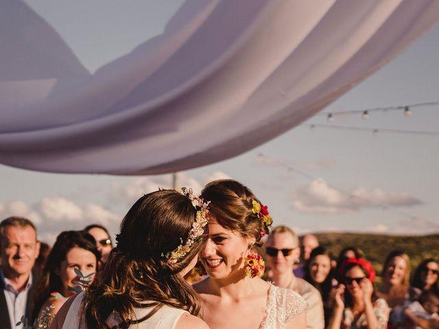 La boda de Capucine y Celia en Caracuel De Calatrava, Ciudad Real 46